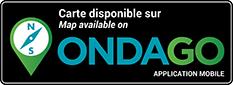 Badge bilingue Disponible sur Ondago