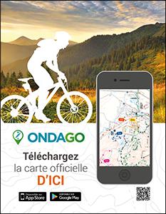 Affiche pour vélo de route et vélo de montagne