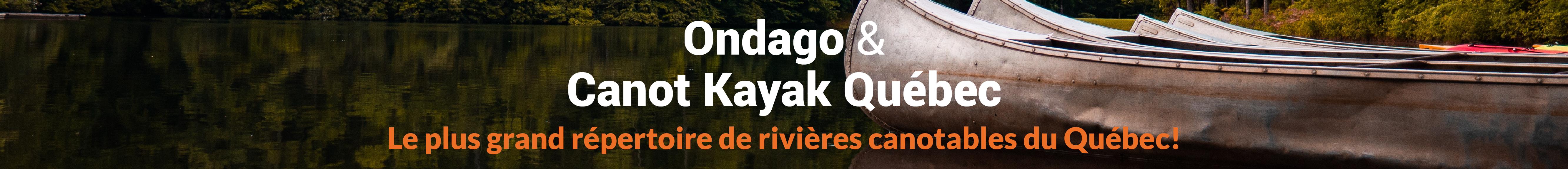 Répertoire de cartes Canot Kayak Québec