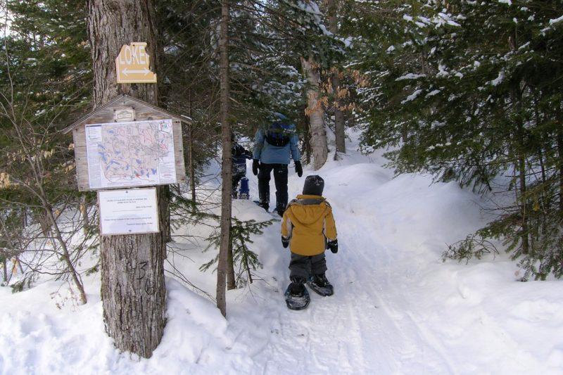 Randonnée hivernale raquette SOPAIR