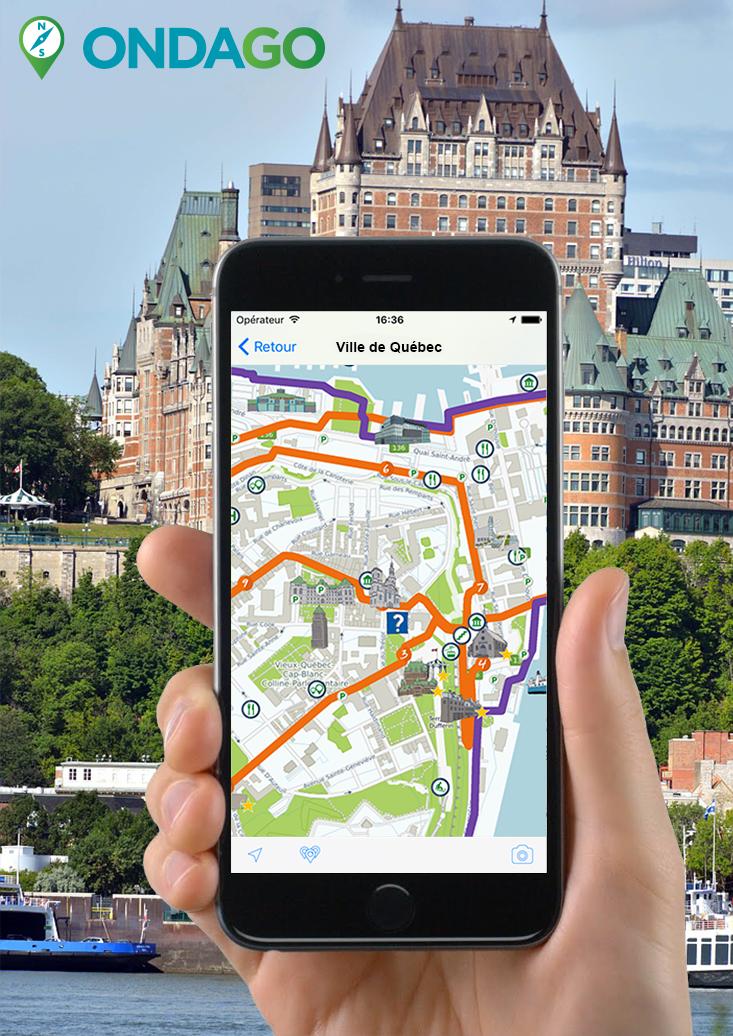 Application mobile municipale, Québec