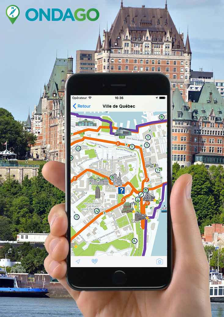 Application mobile municipale, Québec