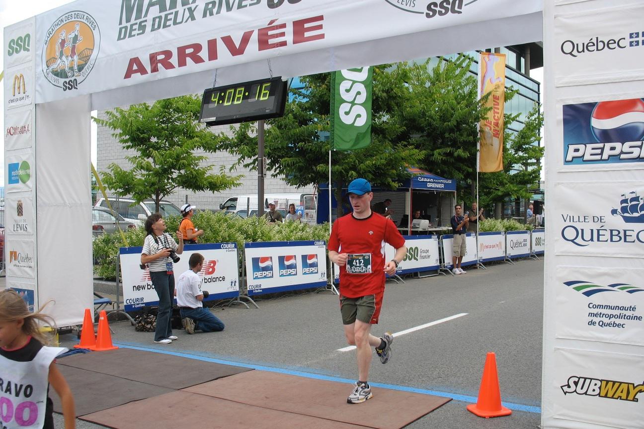 Marathon des Deux Rives, Québec