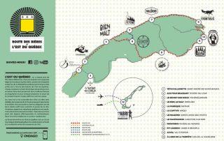 Bientôt, une carte interactive des bières de l'Est-du-Québec sera disponible en application mobile