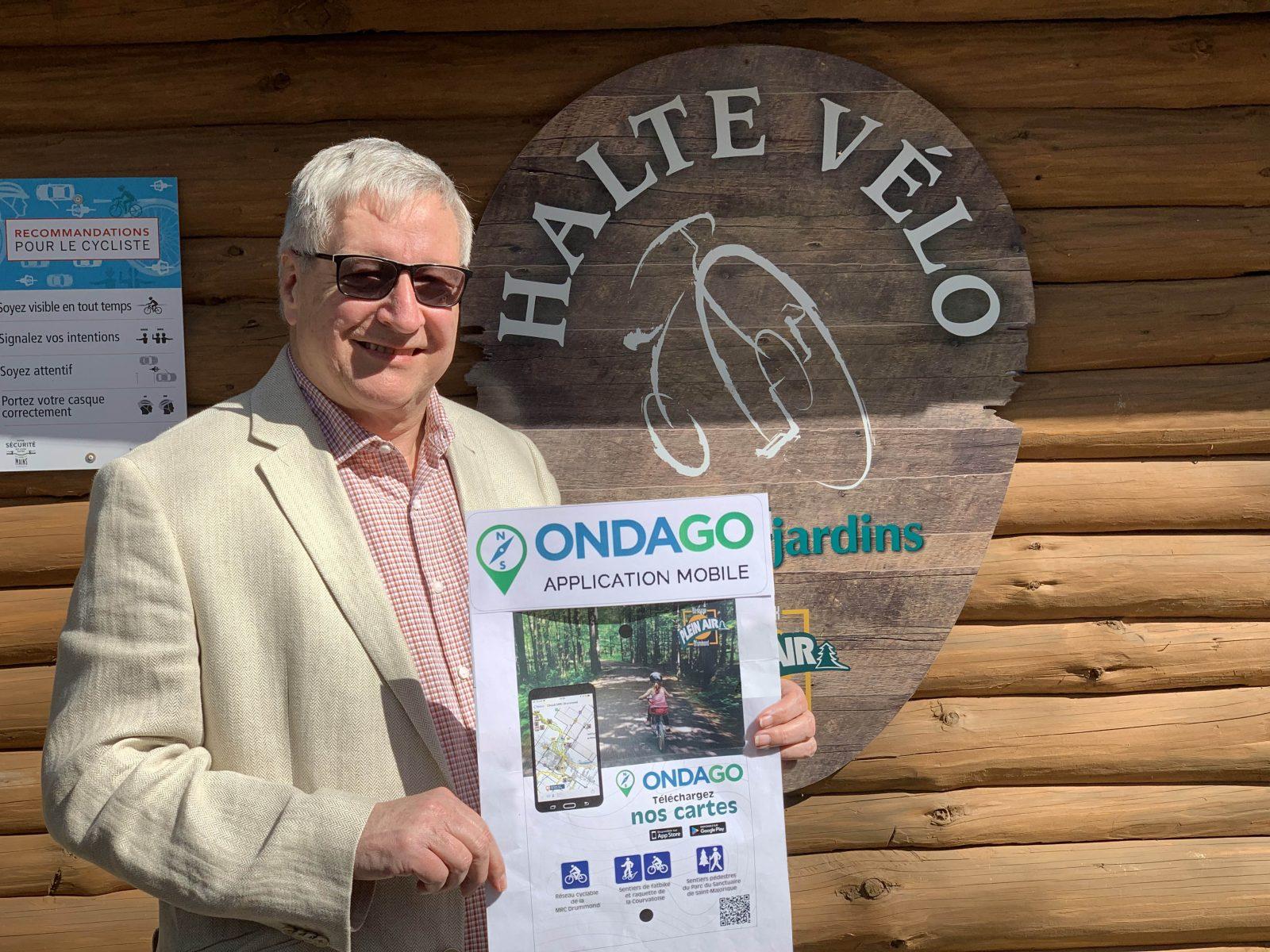 ONDAGO : une application pour les pistes cyclables et sentiers