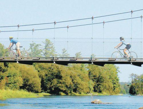 Sept parcours cyclables inusités